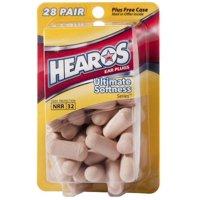 Hearos Ultimate Softness Series Ear Plugs 28 pairs - (Pack of 1)