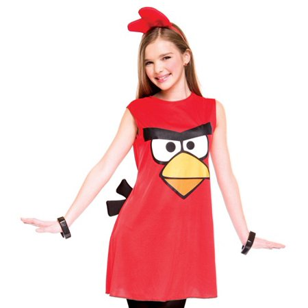 Angry Birds Red Bird Tween Costume - Angry Birds Costumes