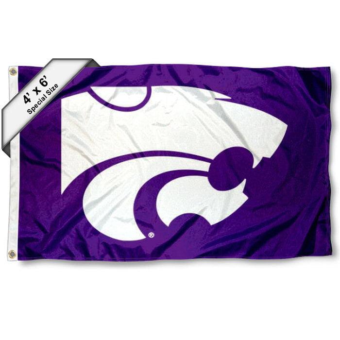 Kansas State Wildcats 4' x 6' NCAA Flag