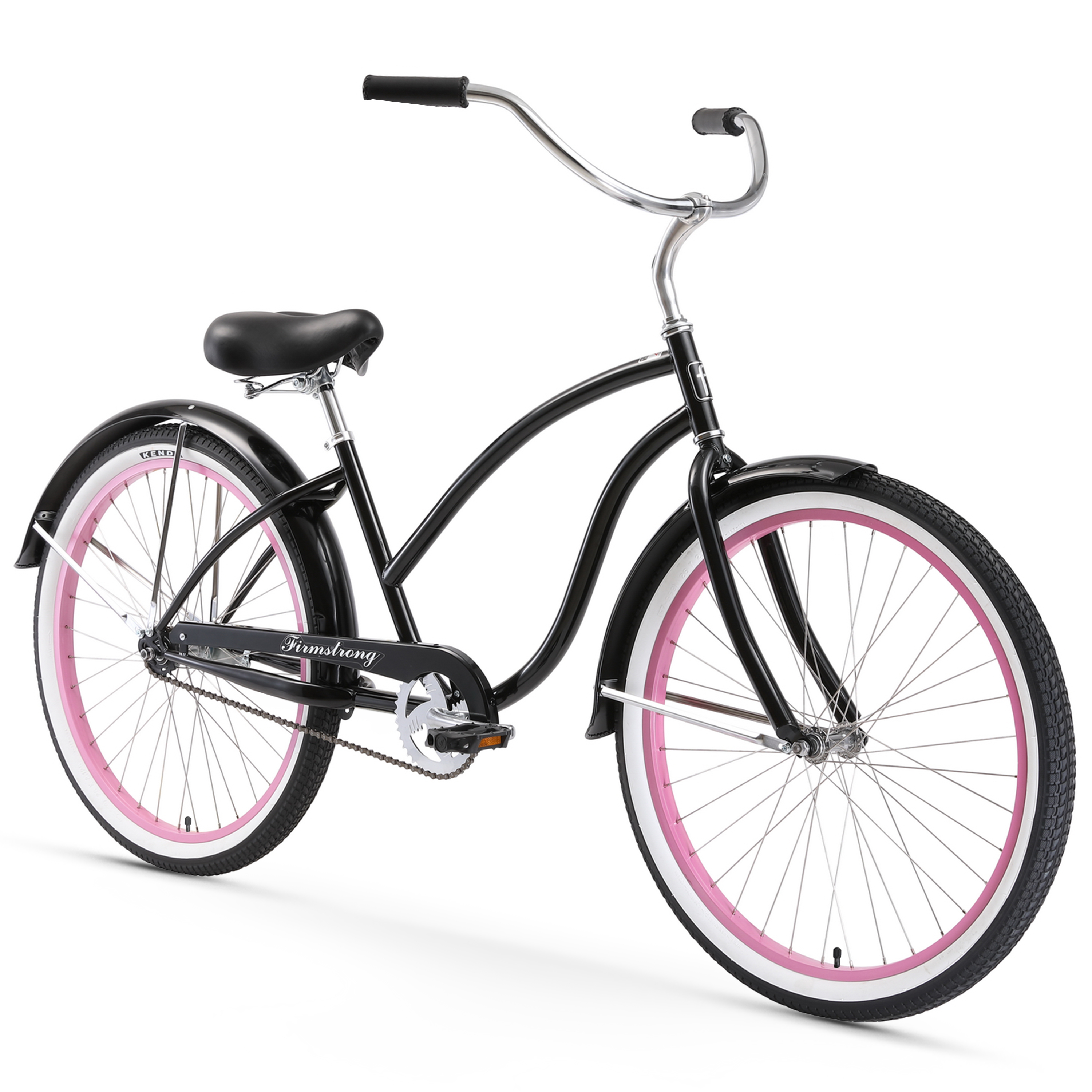 """Firmstrong 26"""" Women's Chief Lady Beach Cruiser Bicycle, 1, 3 and 7 Speed"""