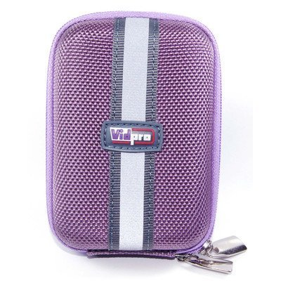 Semi Hard Camera Case - Act Series Point Shoot Digital Camera Case Size: ACT-15 (4.75 H x 2.75 W x 1.75 D), Color: Purple