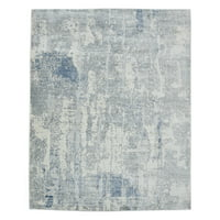 Hannah, Contemporary Handmade Area Rug 9' x 12'
