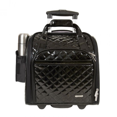 Travelon Wheeled Under Seat Anti-Theft Carry-On with Back-Up Bag - Black Wheeled Under seat Carry-On with Back-Up Bag