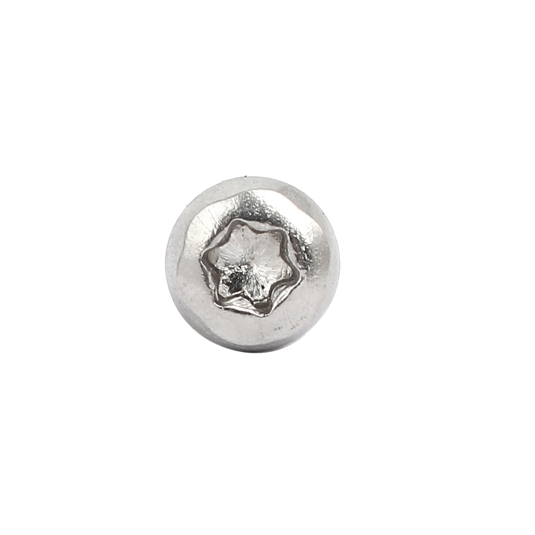 Unique Bargains M4x8mm 304 Stainless Steel Button Head Torx Screws Bolts T20 Drive 100pcs - image 3 of 3
