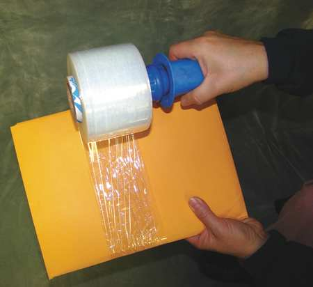 Hand Stretch Wrap,Clear,650 ft,3In W,PK4 15A895
