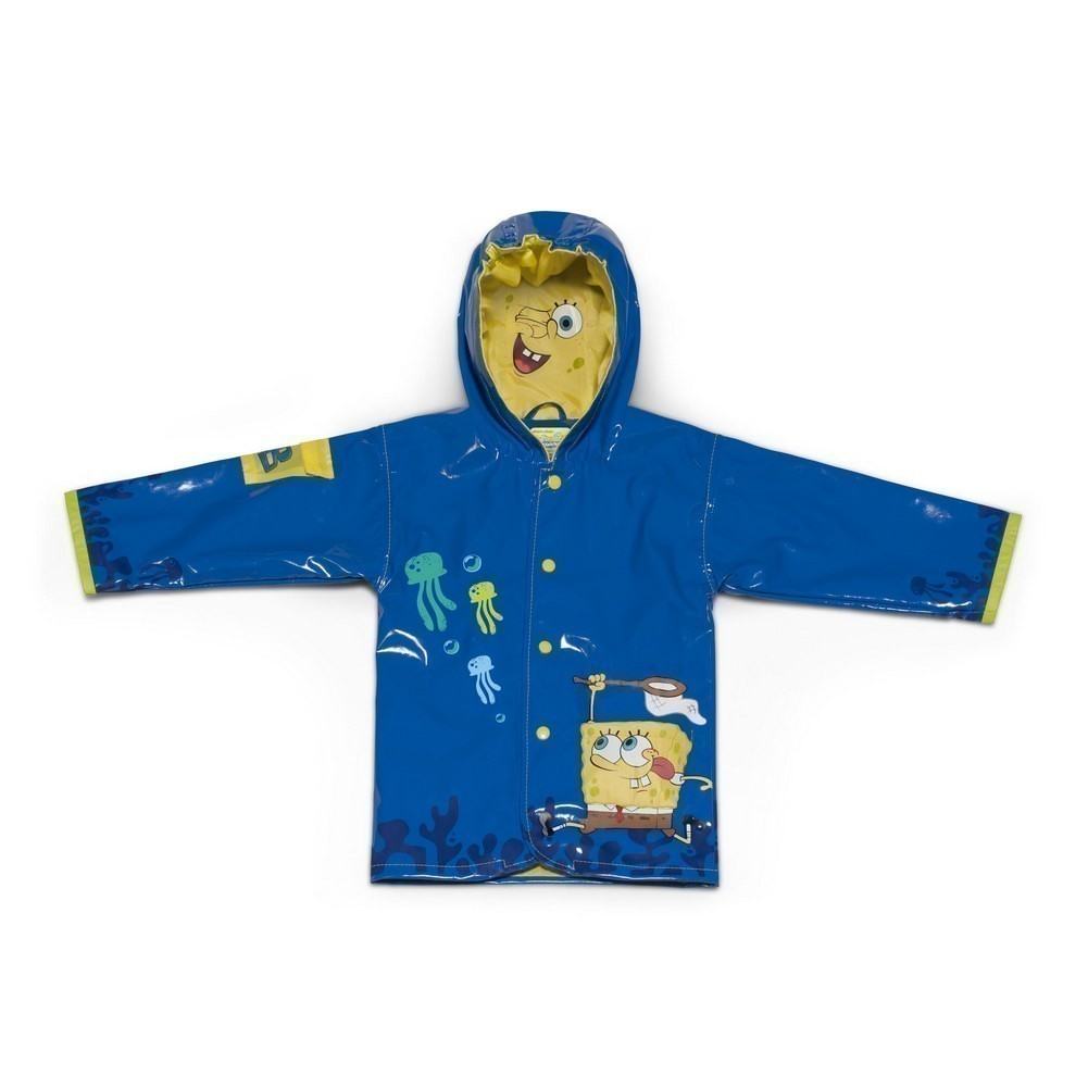 Kidorable Little Boys Blue SpongeBob SquarePants Hooded R...