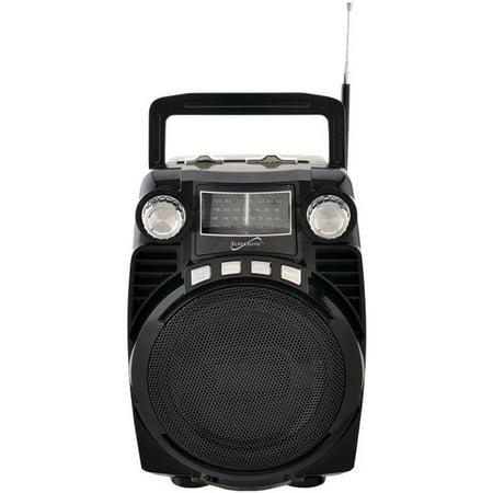 Supersonic SC1390BT 4 Band Radio With Usb Black (Best Dab Digital Radio)