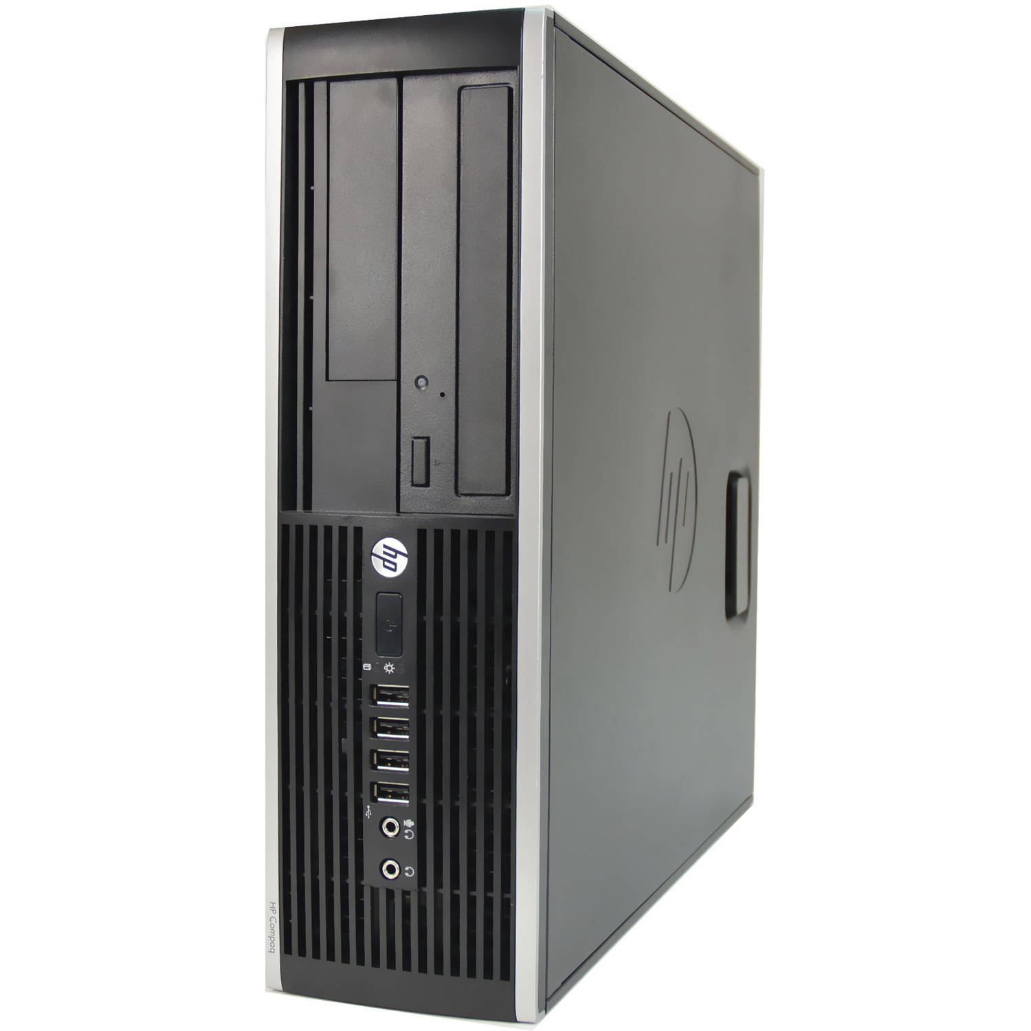 Refurbished HP Black 6200 Desktop PC with Intel Core i3-2100 Processor, 4GB Memory, 500GB Hard Drive and Windows 10 Pro (Monitor Not Included)