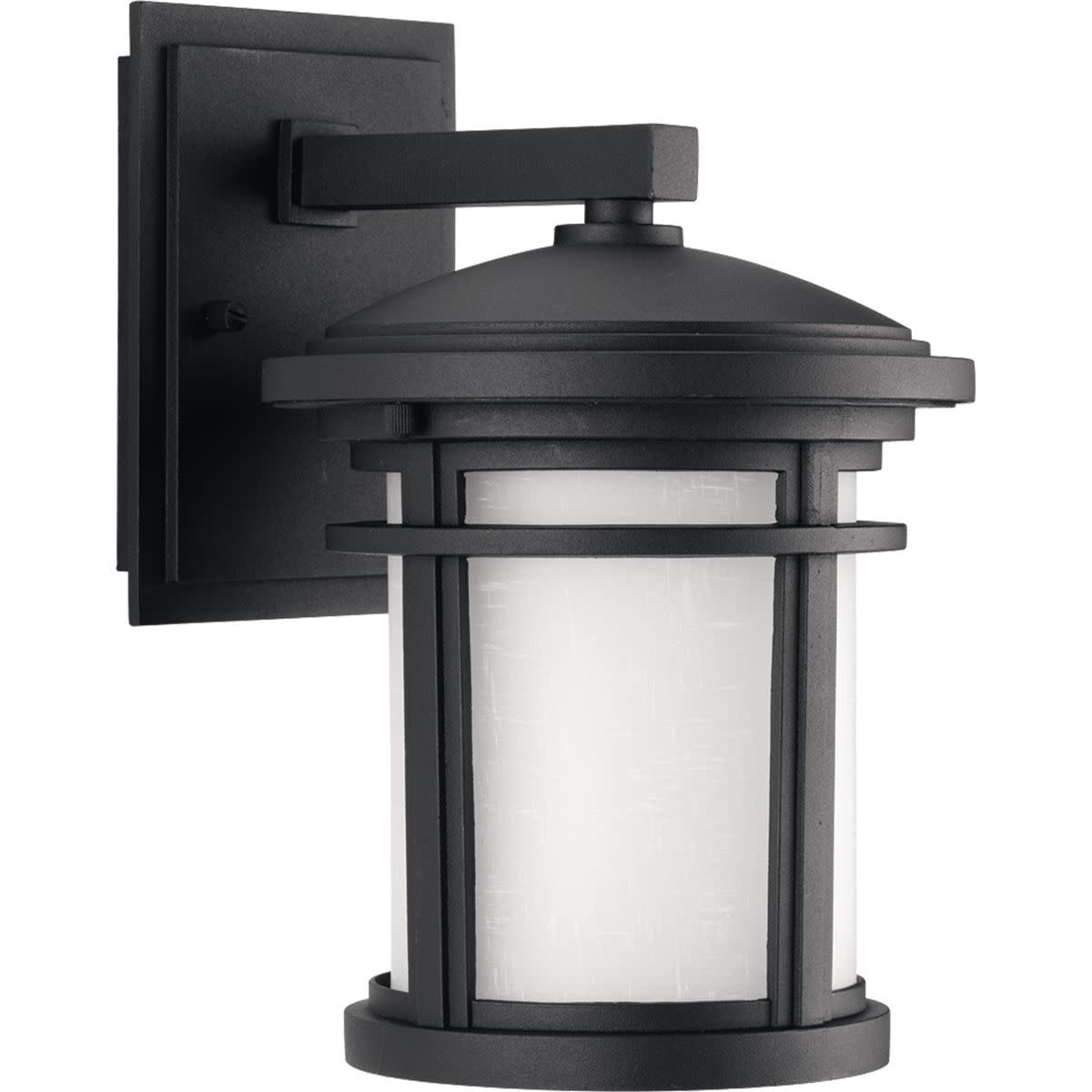 """Progress Lighting P6084 Wish 1 Light 10"""" Tall Outdoor Wall Sconce with Etched Glass Diffuser"""