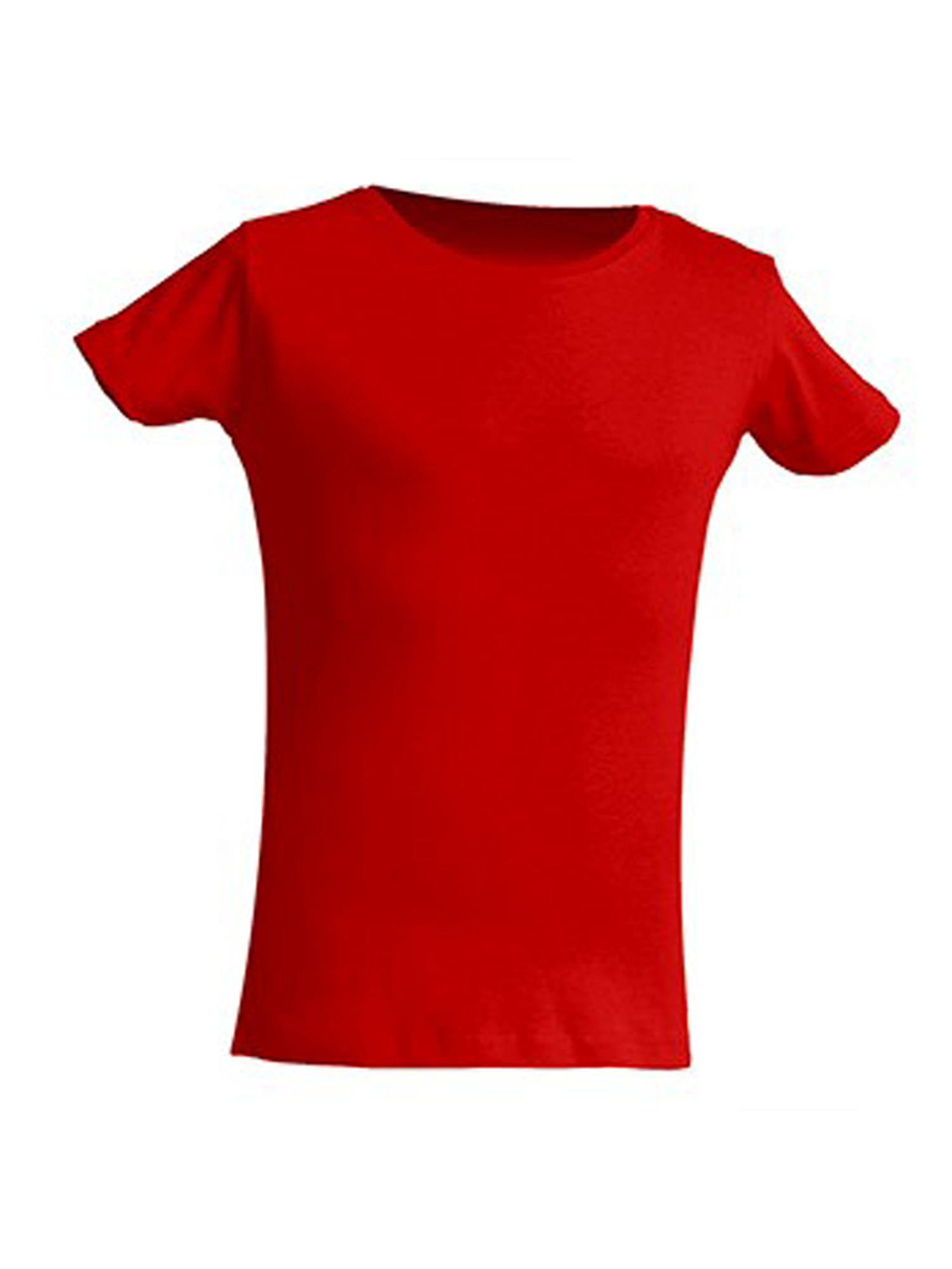 FRESH TEE Girl's Crew Neck Short Sleeve T-Shirt