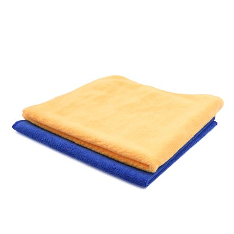 2pcs 40 x 40cm 300g m s chage serviette microfibre lavage voiture chiffon jaune bleu. Black Bedroom Furniture Sets. Home Design Ideas