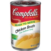 Campbell's Ready to Serve Low Sodium Chicken Broth, 10.5 oz.