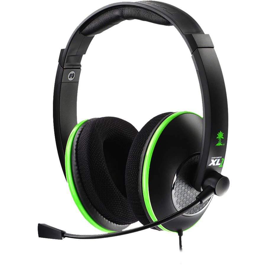 TURTLE BEACH TBS-2149-01 Xbox 360(R) Ear Force(R) XL1 Headset (Black)