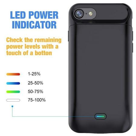 low priced 3fcb1 cdcd0 GIZMOOR iPhone 7 5000mAh Battery Case | Walmart Canada