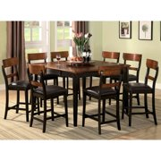 A Line Furniture Freesia Two-tone Counter Height Dining Set