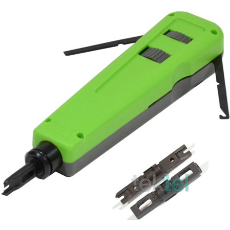 66 Punch Down Block (CAT5E/CAT6 RJ Network Wire Cable Impact Punch Down Tool with 110/66)
