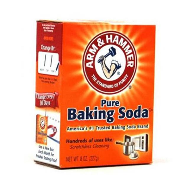 Arm and Hammer CD-01130-1 Baking Soda 8 oz.  Box