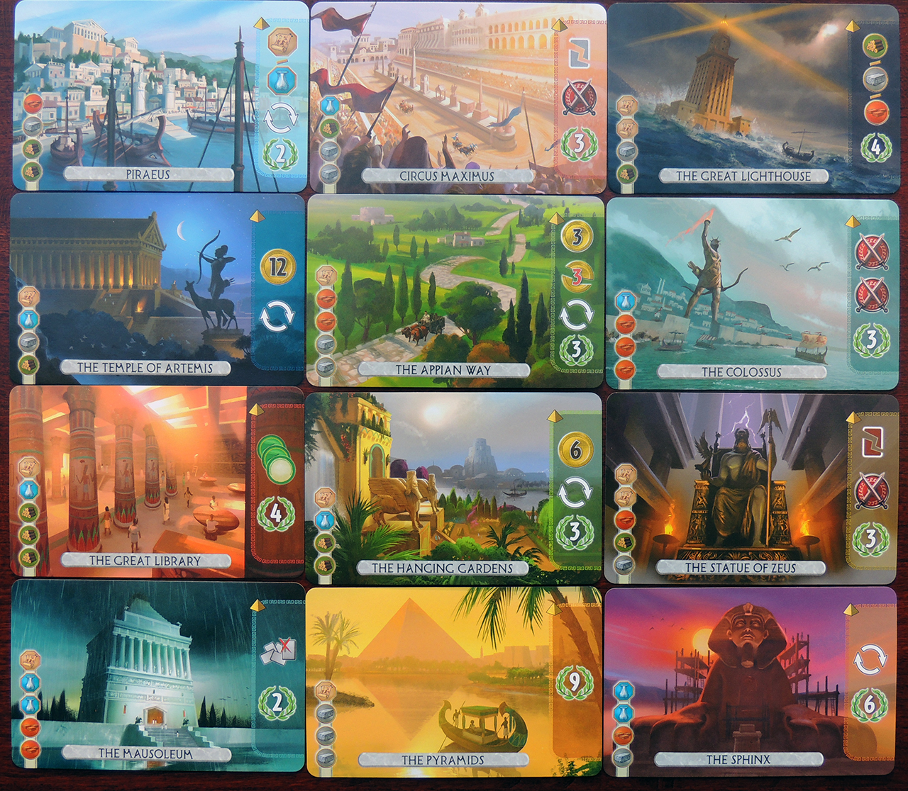 7 Wonders Duel Strategy Card Game