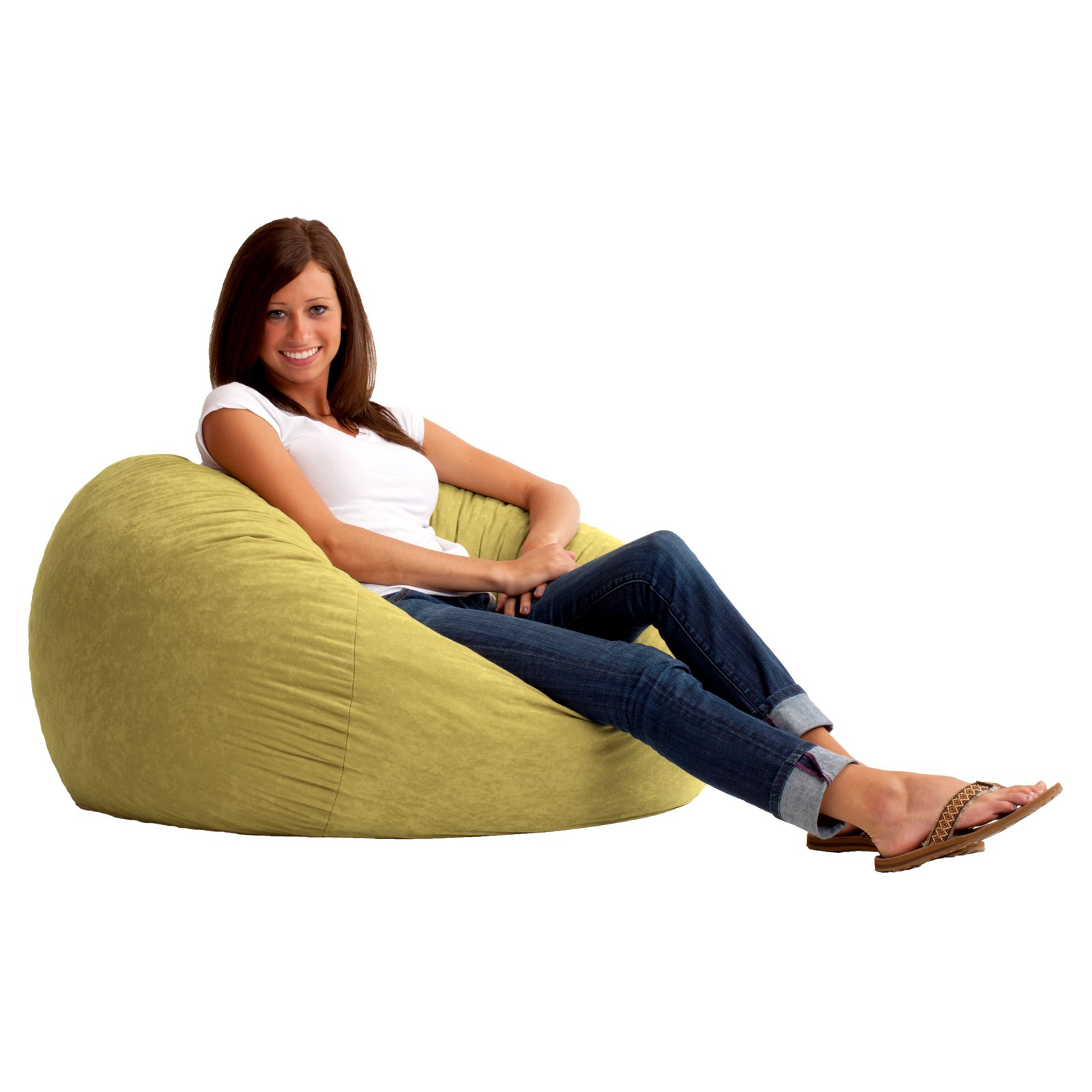 3u0027 Fuf Comfort Suede Bean Bag, Multiple Colors   Walmart.com