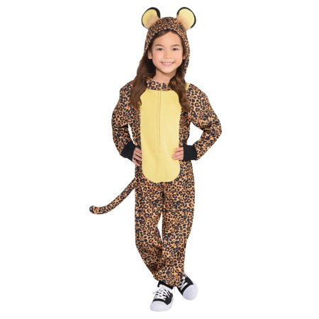 Child Leopard Jumper Costume - Pretty Leopard Child Costume