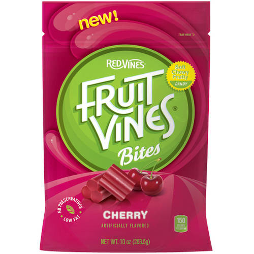 Red Vines, Fruit Vines Cherry Bites, 10 Oz