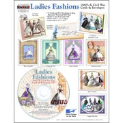 ScrapSMART Ladies' Fashions Cards and Envelopes