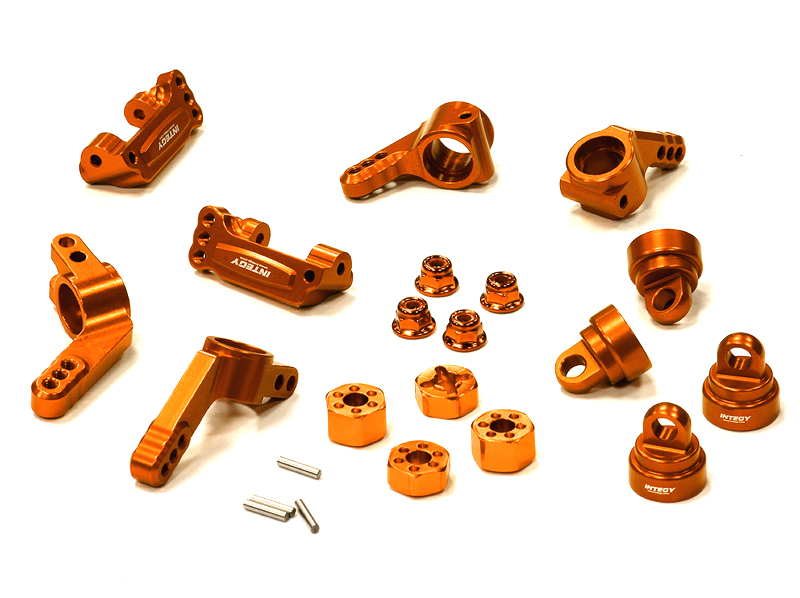 Integy RC Toy Model Hop-ups T8148ORANGE Billet Machined Stage 1 Conversion for Traxxas 1... by Integy