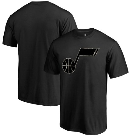 Utah Jazz Fanatics Branded Cloak Camo T-Shirt - Black ()