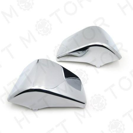 Honda Shadow Chrome - Battery Side Fairing Cover For Honda Shadow ACE750 VT400 1997-2003 Chrome