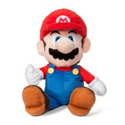 "Super Mario Bros. 22"" Nintendo The Real Thing Kids Bedding, Pillow Buddy Plush Toy"