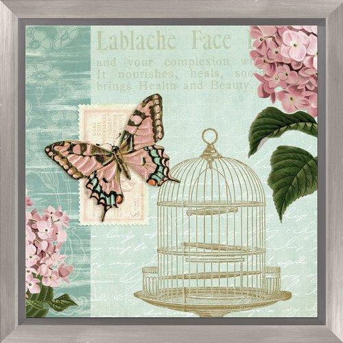 PTM Images Elegant Botanical Framed Graphic Art