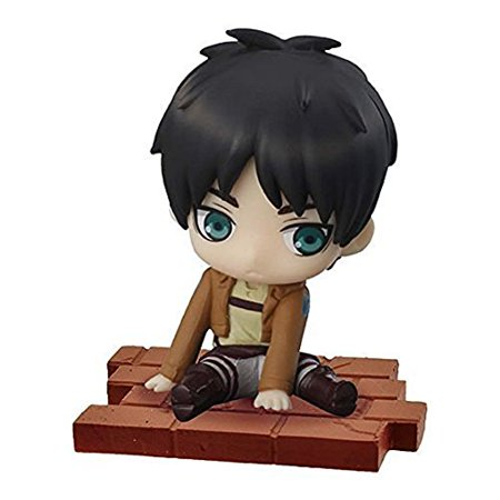 Attack On Titan Titan Eren (Attack on Titan Suwarasetai Sitting Mini Figure Collection - Eren)