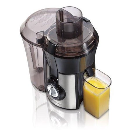 - Hamilton Beach 67608 Big Mouth Juice Extractor, Stainless Steel (Discontinued)