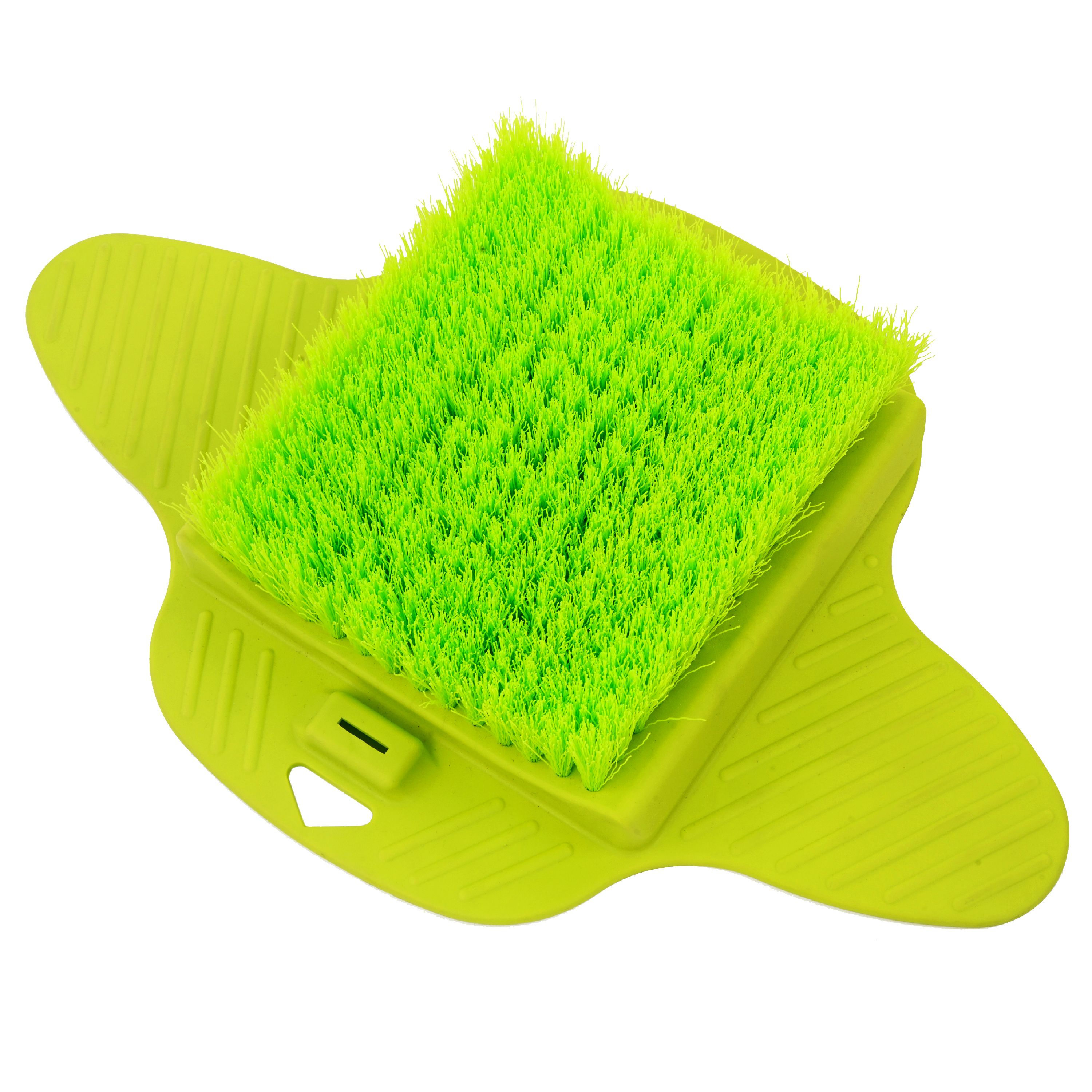 Best Foot Scrubbers - AURORA Foot Brush Scrubber Green 14Lx4.5Wx13H List Review