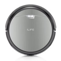 ILIFE A4s Robot Vacuum Cleaner, 1000 Pa Max Suction, 450ml Large Dustbin, 120 mins Runtime, Low Profile, Self Charging Robotic Vacuum, Cleans from Hardfloor to Low-pile Carpet