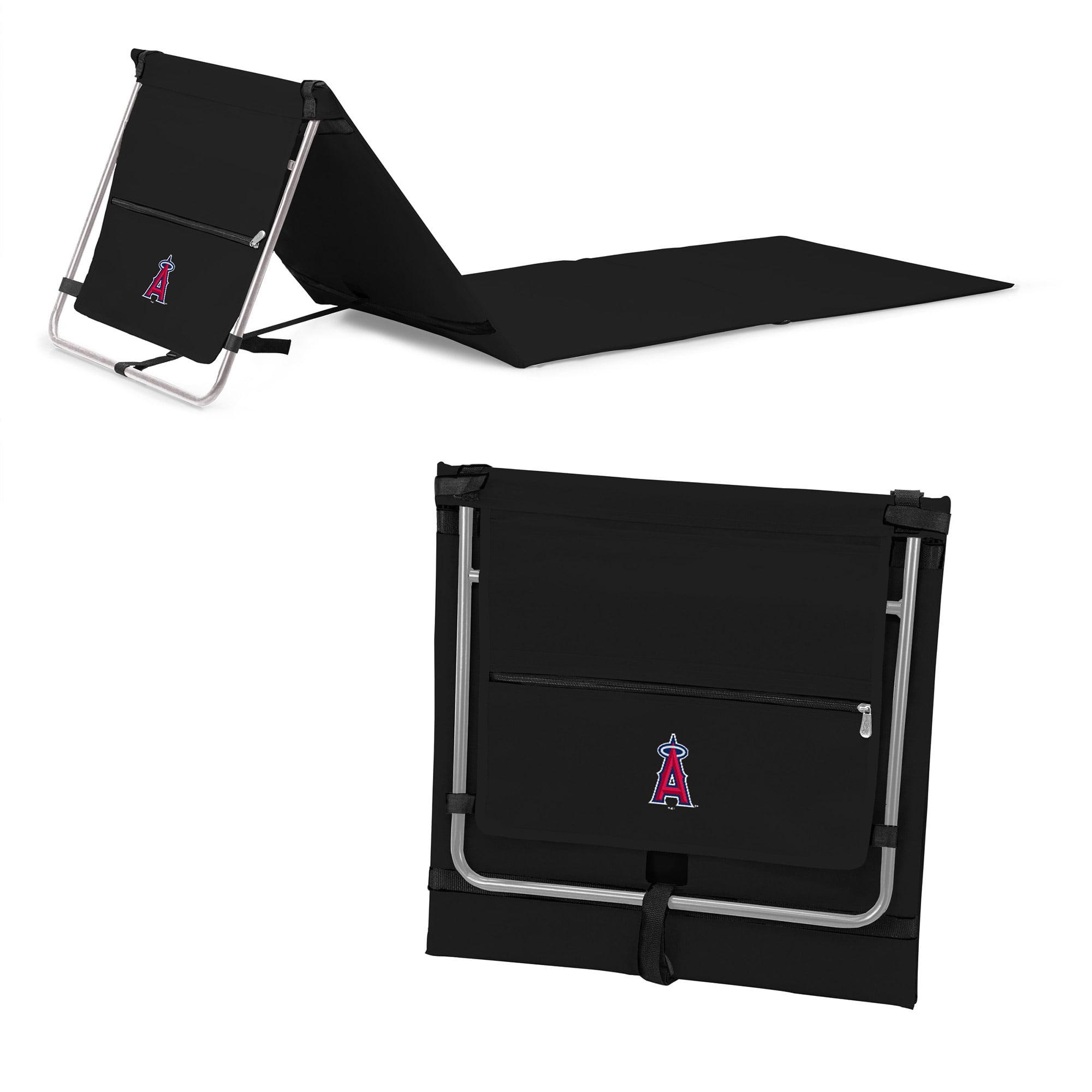 Los Angeles Angels Portable Lounger Beach Mat - Black - No Size