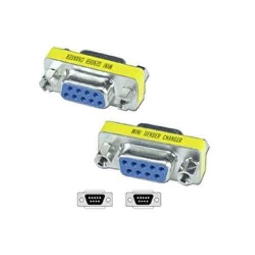 DB9 Female to Female 9-Pin Adapter 2Pack
