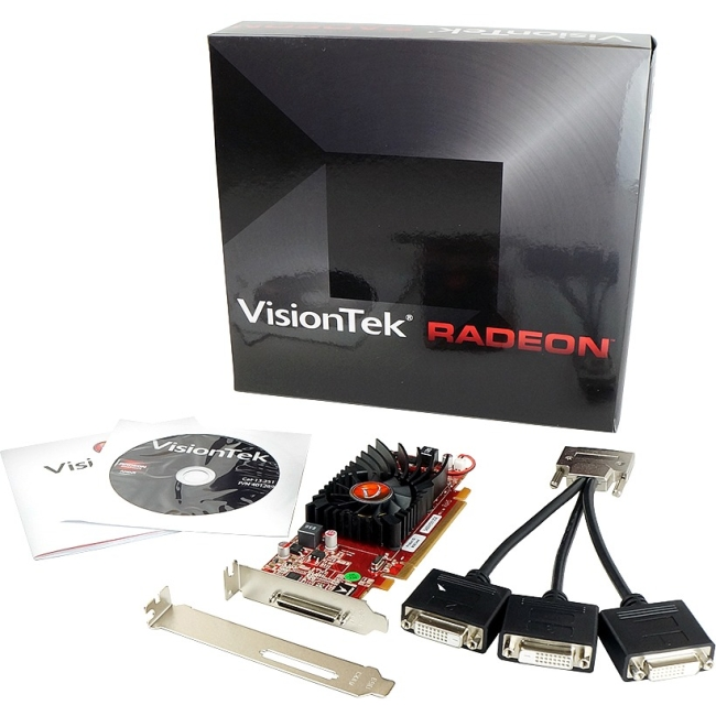 VisionTek - 900344 - Visiontek 900344 Radeon HD 5450 Graphic Card - 512 MB DDR3 SDRAM - PCI Express 2.0 x16 -