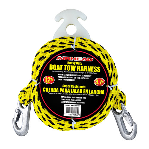airhead heavy duty kwik connect tow harness, black yellow walmart comBoat Tow Harness Walmart #9