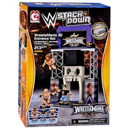 WWE Wrestling C3 Construction StackDown Playset WrestleMania 30 Entrance [wit...