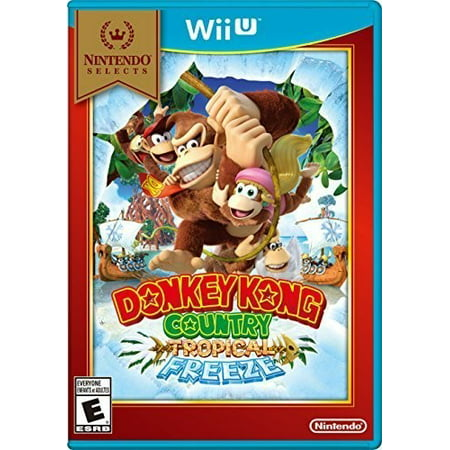 The Donkey Game (Donkey Kong Country Tropical Freeze (Nintendo Selects), Nintendo, Nintendo Wii U,)
