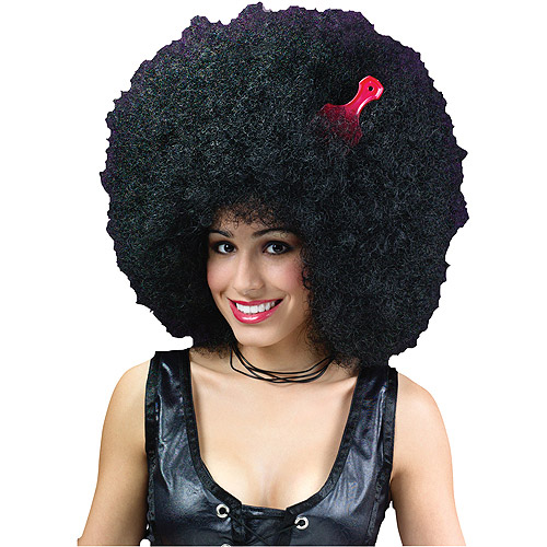 Super Jumbo Afro Wig Adult Halloween Accessory