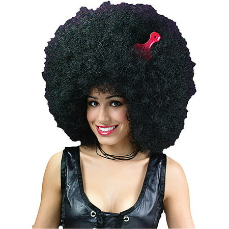 Super Jumbo Afro Wig Adult Halloween Accessory - Afro Wig