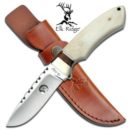Elk Ridge Fixed Blade Knife (Elk Ridge Ultimate Hunter Fixed Blade Knife)