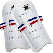 MacGregor Youth Plastic Shin Guards with Elastic Band (Pair)