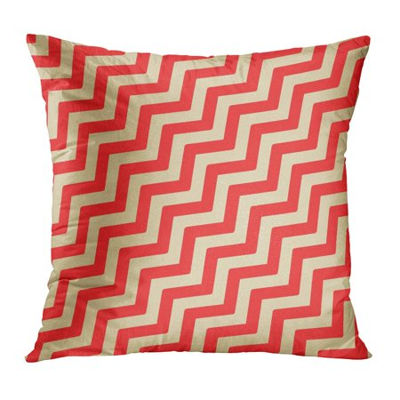 Zag Check (ECCOT Abstract Zigzag Pattern Modern Geometric Tiles Volume Diagonal Black Check Checkered Classic Classical Pillow Case Pillow Cover 18x18)