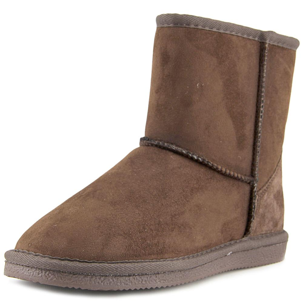 "Lamo 6"" Classic Women Round Toe Synthetic Brown Winter Boot by Lamo"