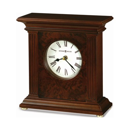 Andover Cherry Finish Quartz Mantel Clock Designer Jewelry by Sweet Pea ()