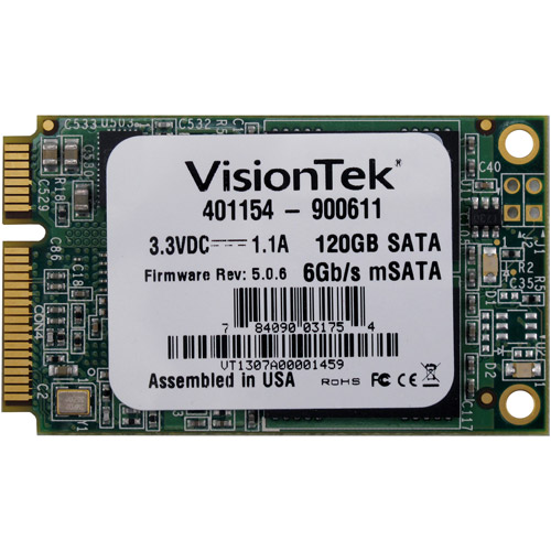 VisionTek 120GB Internal Solid State Drive