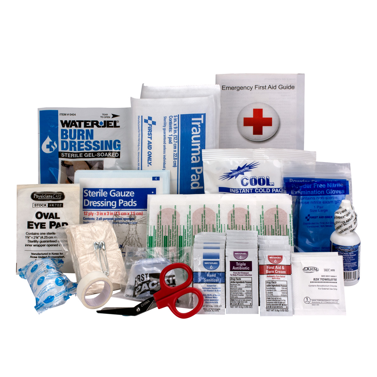 First Aid Only OSHA & ANSI Refill, 25 Person, 89 Pc
